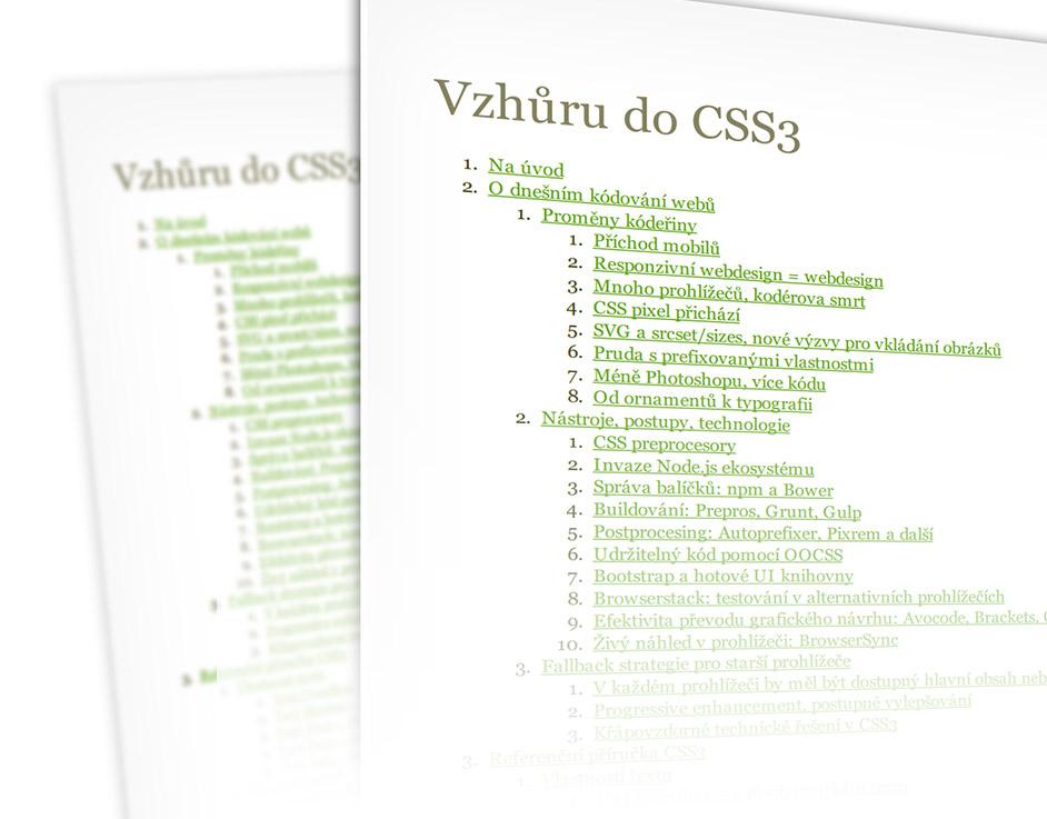 Vzhůru do CSS3: recenze knihy Martina Michálka